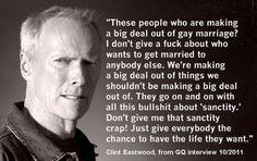 Gotta love Clint Eastwood!