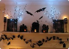 Love these Halloween decorations!