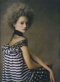 W Magazine April 2004 - Gemma Ward by Paolo Roversi  a-state-of-bliss