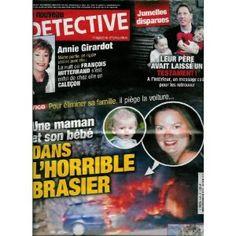 Le Nouveau Détective - n°1486 - 09/03/2011 - Vigo : Une maman et son bébé dans l'horrible brasier [magazine mis en vente par Presse-Mémoire]