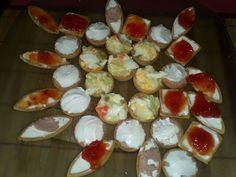 Tartaletas de diferentes sabores y formas!