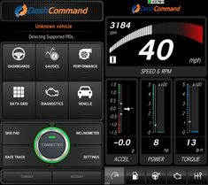 How To Monitor Your Cars Performance With Android: Dash Command