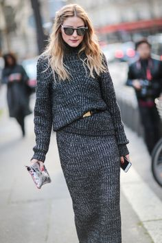 Olivia Palermo is seen, after the Roland Mouret show, during Paris Fashion Week, Womenswear Fall Winter on March 2016 in Paris, France. Olivia Palermo Street Style, Estilo Olivia Palermo, Fashion Week Paris, Love Fashion, Winter Fashion, Fashion Trends, Style Fashion, Business Outfit, Vogue