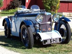 1932 MG J Type Oxford and Cambridge Blues