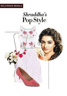 Exclusive Look by Jaya Blue Suede Pumps, White Pumps, Fit Flare Dress, Fit And Flare, Bollywood Masala, White Slip, Crepe Dress, Pop Fashion, Dress Brands
