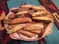 skinny banana biscotti