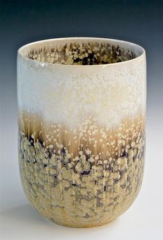 Robert Hessler beautiful looks like lichen! Pottery Mugs, Ceramic Pottery, Pottery Art, Thrown Pottery, Slab Pottery, Earthenware, Stoneware, Ceramic Clay, Glazed Ceramic