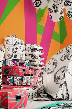 Introducing SPRIDD, a cheeky and playful IKEA limited collection! Update your current look with unique pieces that match your unique style, like storage boxes, blankets and bean bag chairs. Click to see the full collection!