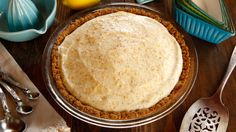 Cold Lemon Pie recipe inspired by Walt Disney