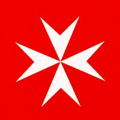 The Maltese Cross was introduced to Malta by the Knights of St. John of Jerusalem upon taking possession of the islands in 1530 and remains the Symbol of the Sovereign Military Order of Malta. The Kn Knights Hospitaller, Knights Templar, Maltese Cross Tattoos, Malta Cross, Malta History, Christian Warrior, Malta Gozo, Military Orders, Armadura Medieval