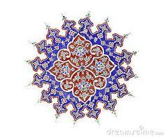 Oude-perzische-illustratie-op-het-plafond-14521810