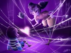 Muffet | Frisk| Undertale | Spider Dance