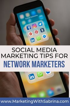 Build your network marketing business leveraging social media without having to bug your friends or family by following these tips.  Simple social media tips to start building your network marketing business.   #networkmarketingtips #social media #mlm