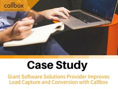 Generating leads and appointments is not as easy as 1,2,3. But Callbox has found a way to do so—by using Lead generation, Appointment Setting, and Call-to-Invite. Learn more how a giant software solutions scale up their sales after choosing Callbox.