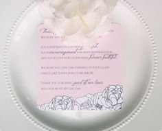 Check out this item in my Etsy shop https://www.etsy.com/listing/96365425/printable-wedding-reception-thank-you