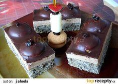 "Řezy ""Prsa černošky"" recept - TopRecepty.cz Desserts, Food, Tailgate Desserts, Deserts, Essen, Postres, Meals, Dessert, Yemek"