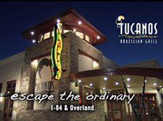 The lovely Tucanos location in Boise, Idaho - Escape the ordinary with Rio de Janeiro Churrasco .  #Churrasco #Tucanos