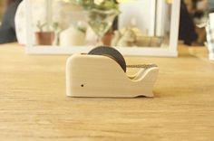 鲸鱼 膠帶座 膠帶台 - 鳥人 Pipit | Pinkoi