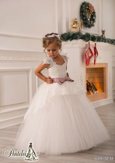 Lilac Flower Girl Dresses Off Shoulder Lace Sash Ball Gown Net Baby Girl Birthday Party Christmas Princess Dresses Children Girl Party Dresses Flower Girl Dresses Designer Outfits From Weddingmall, $44.08| Dhgate.Com