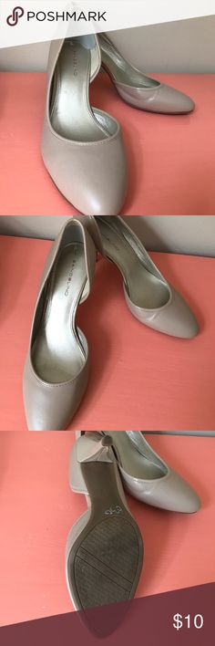 Bandolino Size 9 Nude Heel Bandolino size 9 nude heel. Very versatile and in great condition. Only work a couple of times. Bandolino Shoes Heels