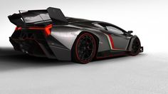 Lamborghini Veneno - The Veneno is based on the Aventador supercar, and shares its 6.5-litre V12 engine although in the Veneno it develops 50bhp more, at 750bhp. That, combined with a wind-cheating shape, should mean a top speed of 221mph.