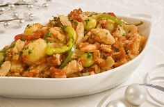 Bacalao Recipes | Spanish Recipes - Spanish Fish: Bacalao a la vizcaína - Bay of Biscay ...
