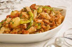 Bacalao Recipes | Spanish Recipes - Spanish Fish: Bacalao a la vizcaína - Bay of Biscay ...