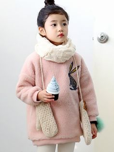 Round Neck Pullover Lambswool Girls Sweater Kids Outfits Girls, Girl Outfits, Fashion Gallery, Girls Sweaters, Baby Wearing, Kids Wear, Cute Kids, Kids Fashion, Pullover