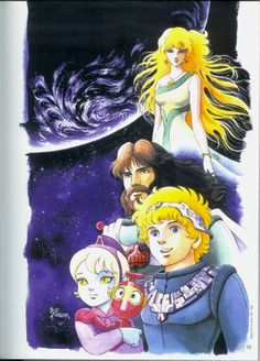 Uchuu Densetsu Ulysses 31 by Shingo Araki Science Fiction, Saturday Morning Cartoons, 90s Cartoons, My Childhood, Retro, Manga Anime, Sci Fi, Images, My Arts