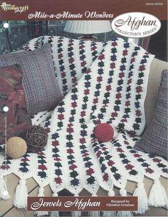 Jewels Afghan Crochet Pattern Afghan by KnitKnacksCreations