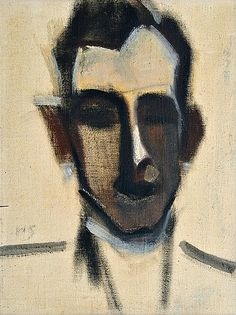 "huariqueje: "" Man - Helene Schjerfbeck , 1924 Finnish, Oil on canvas cm. Helene Schjerfbeck, L'art Du Portrait, Abstract Portrait, Female Painters, Gustav Klimt, Scandinavian Art, Wassily Kandinsky, Claude Monet, Vincent Van Gogh"