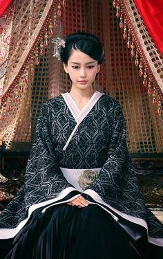 古装美人 云中歌 Angelababy - Chinese period drama 'Song in the clouds' (Yun Zhong Ge) starring Angelababy.