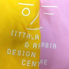 Identity & custom type design for Iittala & Arabia Design Centre Type Design, Helsinki, Centre, Identity, My Love, Typography Design, Print Design, Personal Identity