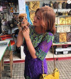 """O Grito do Bicho"": Marina Ruy Barbosa posa com tigres na Tailândia e ..."