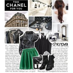 """too chanel for you"" by myduza-and-koteczka on Polyvore"