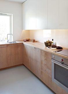 √ Scandinavian Kitchen Design For Your Lovely Home - Boxer JAM Kitchen Dinning, New Kitchen, Kitchen Decor, Kitchen Ideas, Kitchen White, Wooden Kitchen, Wooden Counter, Rustic Kitchen, Küchen Design