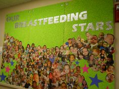 Geary County WIC Breastfeeding Stars! We love to display our breastfed babies!