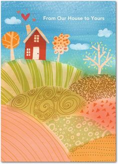 Homespun Thanks - Happy Thanksgiving Greeting Cards from Treat.com