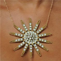 """""""Inessa Necklace - I'm going to need  this."""" -Andrea  #laylagrayce #customerfavorites #jewelry"""