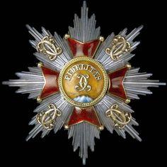 Baden German State Order of Fidelity breast star.