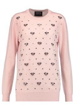 MARKUS LUPFER Daisy embellished merino wool sweater. #markuslupfer #cloth #sweater