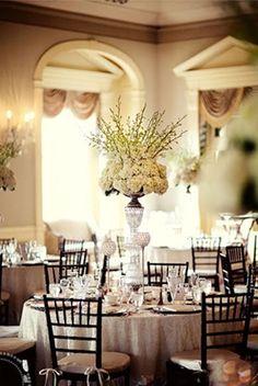 Tablescape #Classic #Vintage #Wedding