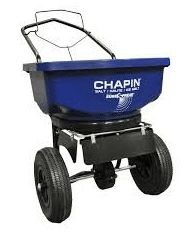 Top Rated Professional Commercial Rated Walk Behind Stainless Steel Rock Salt Spreader- Heavy Duty Unit With All-Terrain Tires 80 LB Rated 360 Degree Covering Area Adjustable Dial Enclosed Gears Salt And Ice, Walk Behind, All Terrain Tyres, Best Commercials, One With Nature, Wheelbarrow, Green Building, Lawn And Garden, Amazing Gardens