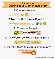 The Cloth Diaper Whisperer: 5 Steps to Starting Your Cloth Diaper Stash #schoolofcloth