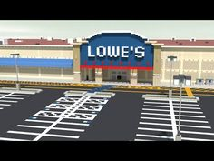 Hope you guys enjoy the video and I thank you guys for your support! I appreciate you more than you know! Lowe's a store similar to Home Depot, but can be la. Minecraft Creations, Minecraft Projects, Minecraft Crafts, Lowes Home Improvements, Home Depot, Lowe's Home Improvement Store, Minecraft City Buildings, Minecraft Construction, Minecraft Blueprints