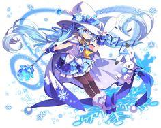 乖離性ミリオンアーサー【騎士】異界型雪ミク2014.jpg