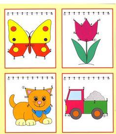 Kids Under Tracing Worksheets for Kids. Free dot to dot worksheets for kids.