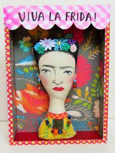 Frida Kahlo Boxed Art Doll