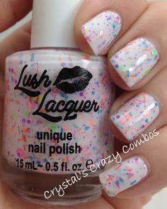 Lush Lacquer unique nail polish
