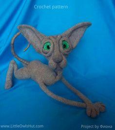 Project by Фиона. Crochet pattern Cat Sphinx Findus by Svetlana Pertseva fot LittleOwlsHut #LittleOwlsHut, #Pertseva, #Cat, #CrochetPattern, #Amigurumi, #CatSphinx, #Kitty, #Kitten, #DIY